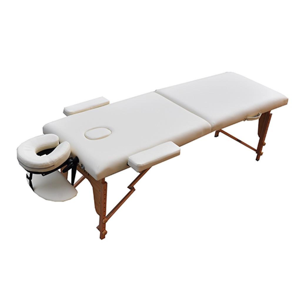 Массажный стол стационарный Zenet ZET-1042 размер S бежевый