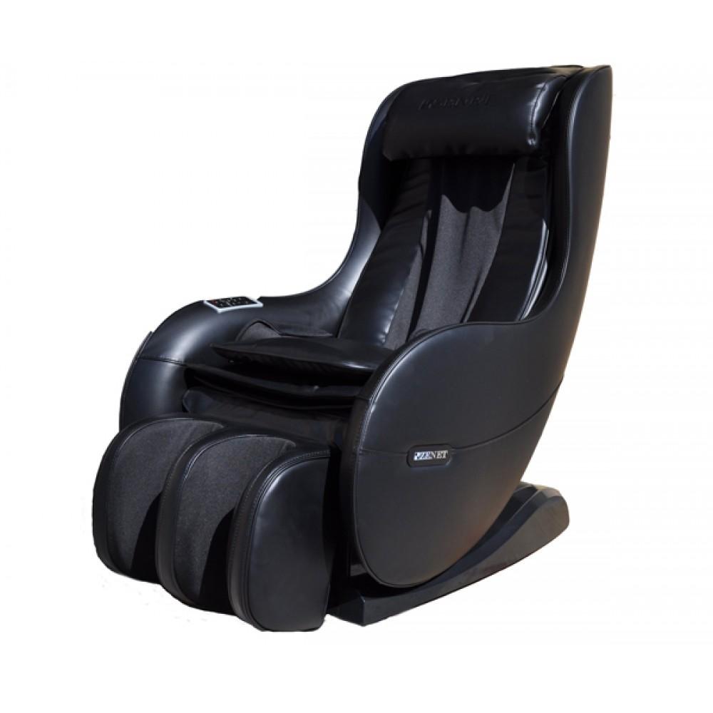 Массажное кресло с подогревом ZENET ZET 1280 черное