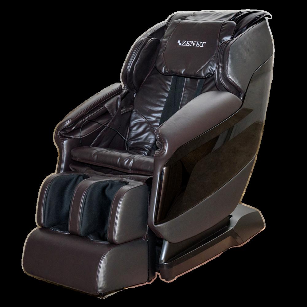 Массажное кресло ZENET ZET 1550 Коричневое