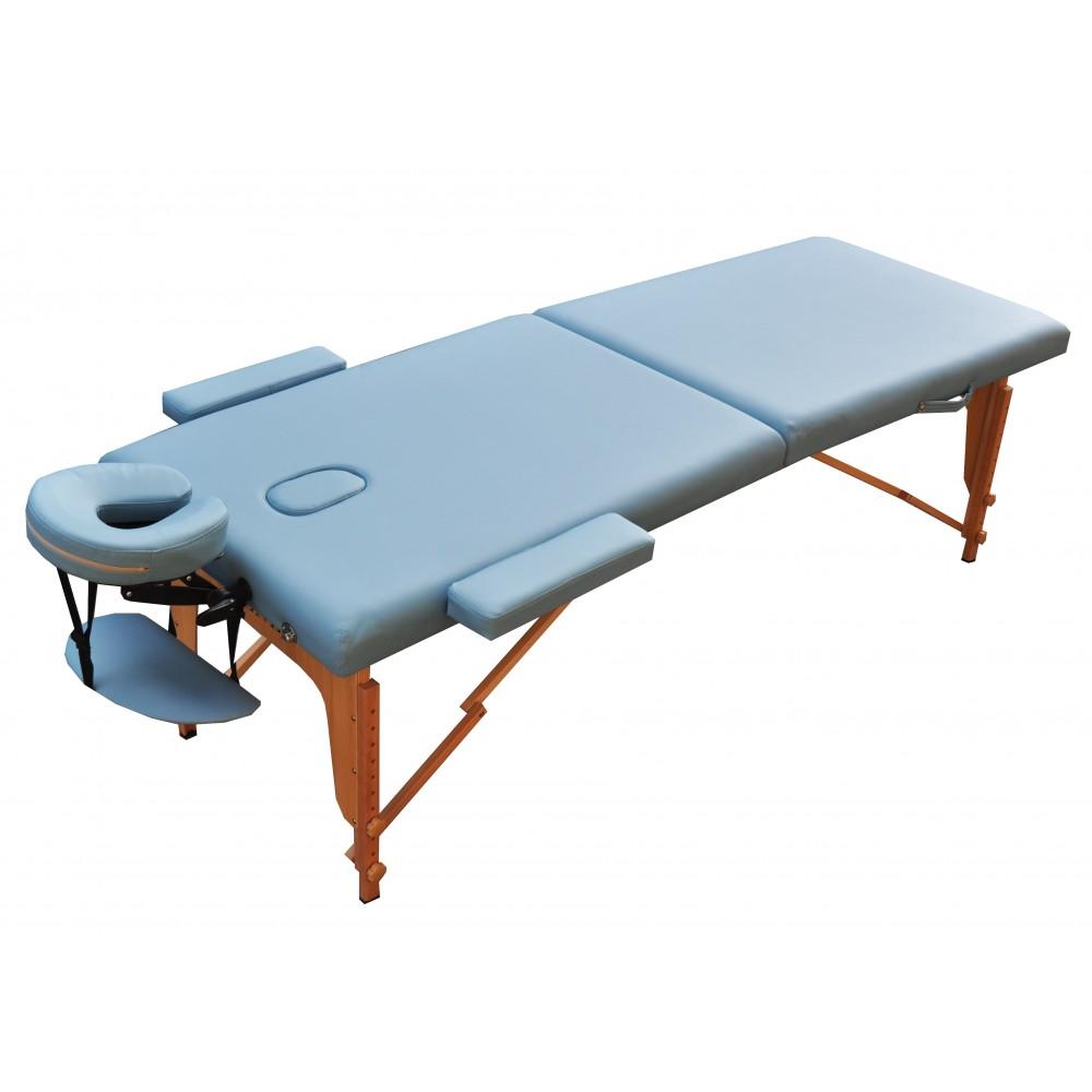Массажный стол ZENET ZET-1042 размер L голубой
