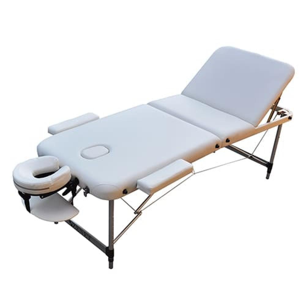 Массажный стол раскладной Zenet ZET-1049 размер M белый