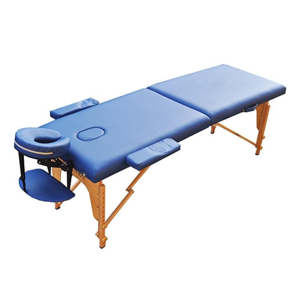 Профессиональный массажный стол Zenet ZET-1042 размер M синий