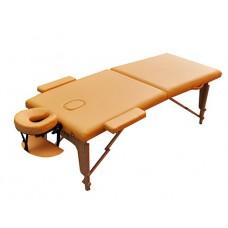 Стол массажный чемодан Zenet ZET-1042 размер M желтый