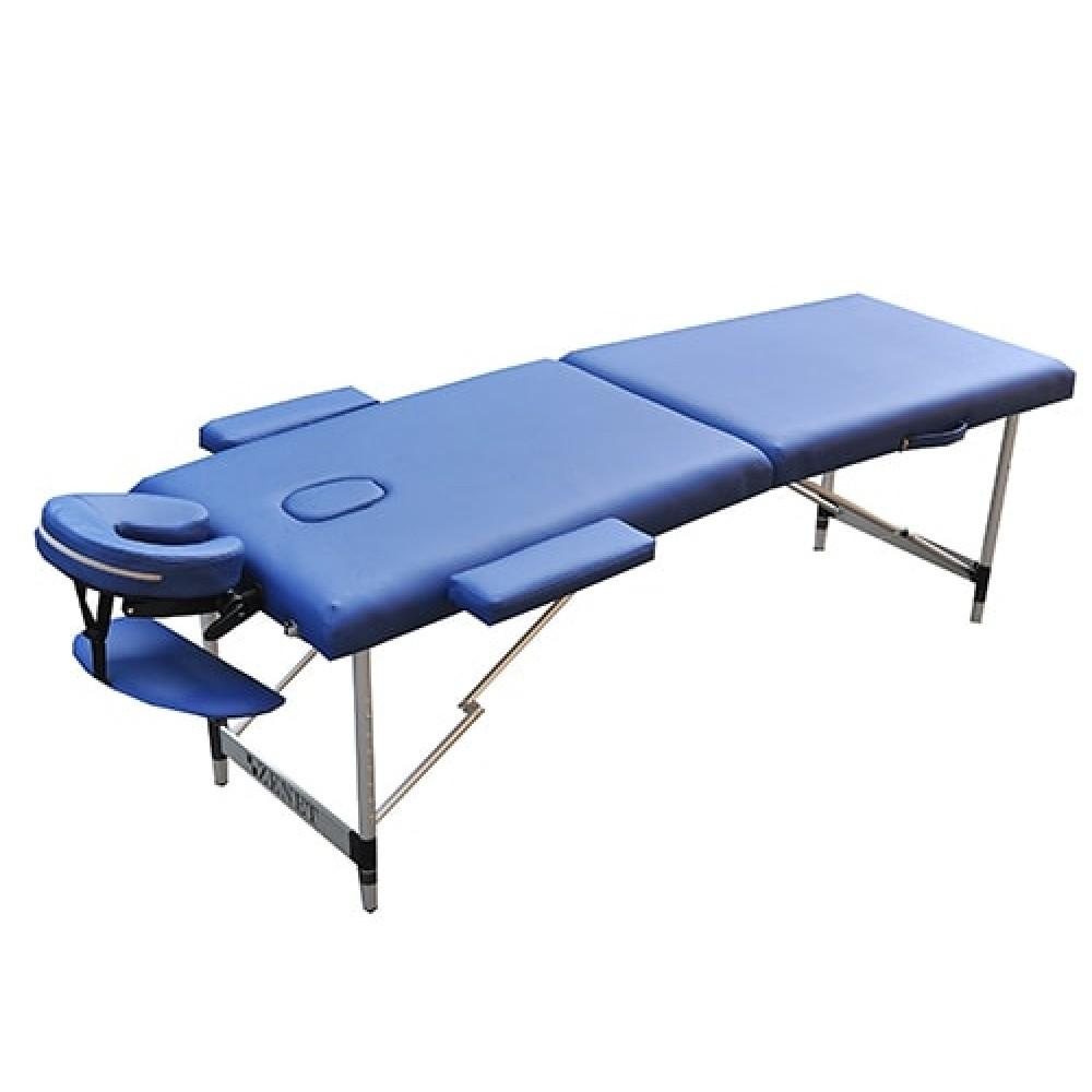 Стол массажный переносной Zenet ZET-1044 размер M синий