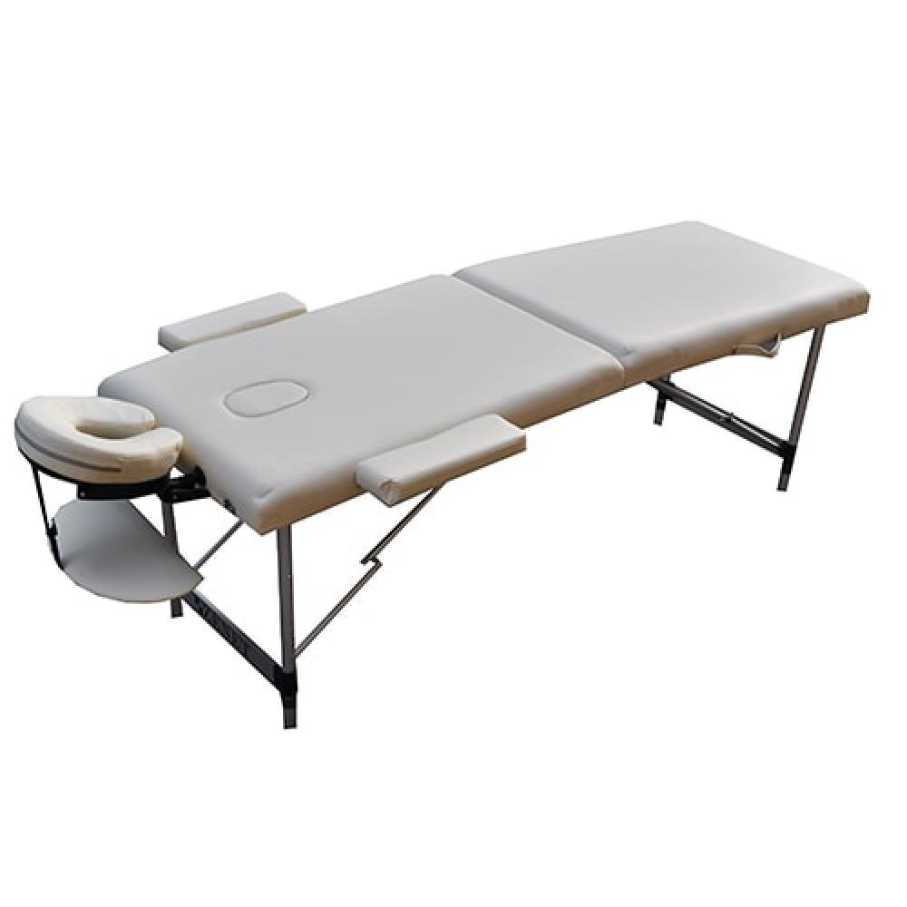 Массажный стол с регулировкой высоты Zenet ZET-1044 размер S бежевый